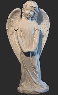 Ангелочек с искусственного мрамора - 49 см