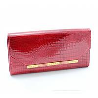 Женский кошелек Qian Xi Lu с натуральной кожи, красный