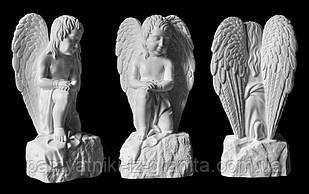 Скульптура ангела из искусственного мрамора № 2