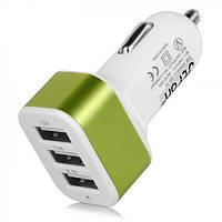 Адаптер CAR USB 3 USB, адаптер переходник от прикуривателя, переходник от прикуривателя, авто адаптер USB
