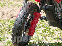 Детский электромобиль мотоцикл Cross Hit/ 014, фото 3