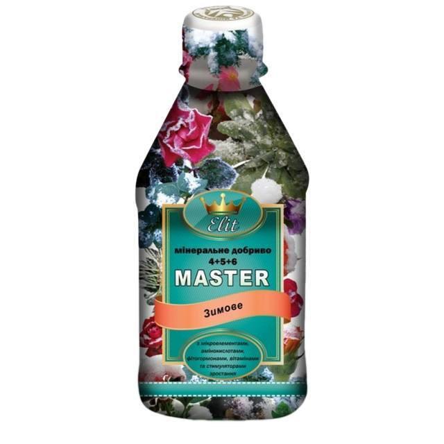 Комплексное минеральное удобрение Master Elit (Мастер Элит) 300мл - зимнее