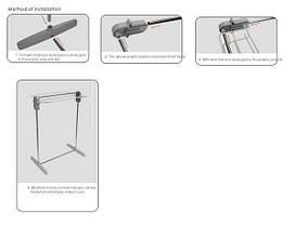 Сушилка для белья напольная Multifunctional clothes rack, фото 3