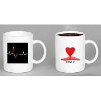 Чашка хамелеон Heartbeat ( биение сердца )