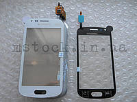 Touch screen (Sensor) Samsung S7562/ S7560 white с самоклейкой (TEST OK)