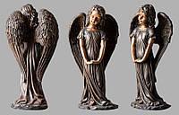 Скульптура ангела из искусственного мрамора № 3 (тонированный)