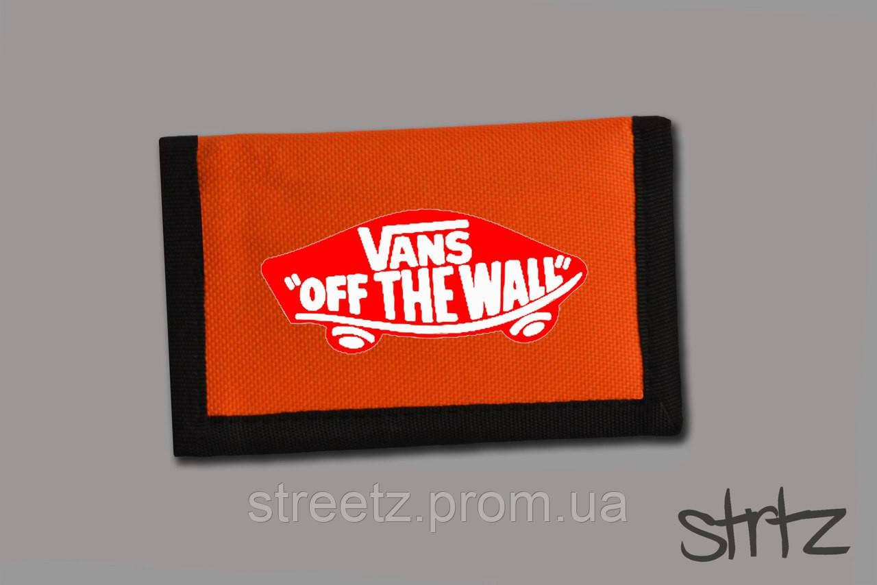 Кошелек Vans Textile Wallet