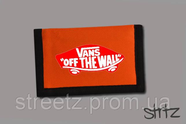 Кошелек Vans Textile Wallet, фото 2