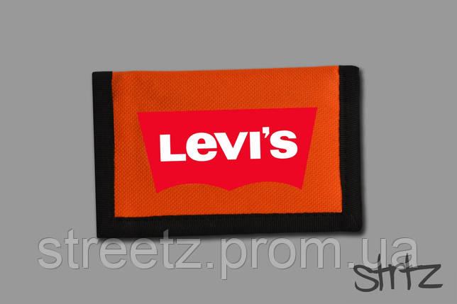 Кошелек Levis Textile Wallet, фото 2