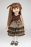 Кукла Молли, реборн, 45 см, полностью из винила, в подарочной упаковке