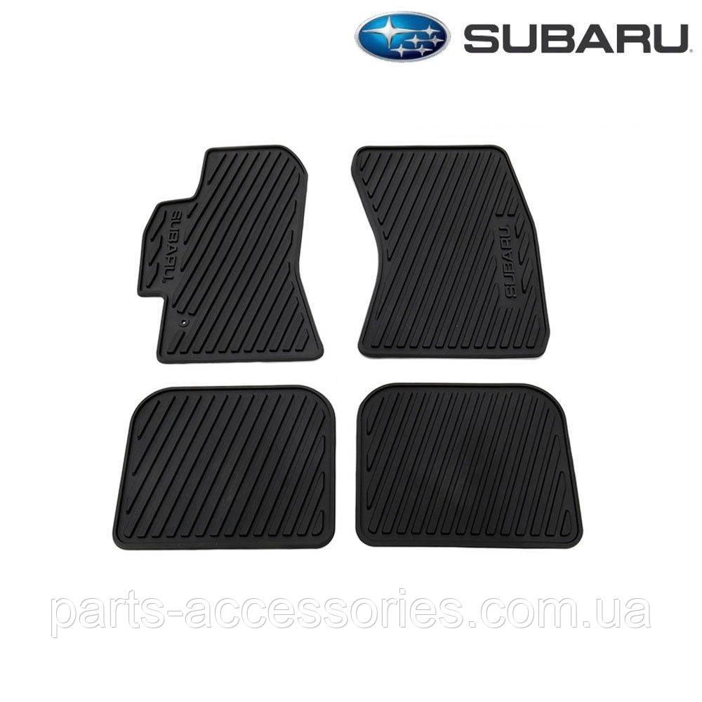 Subaru Outback 2005-09 коврики резиновые передние задние Новые Оригинал