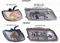 Фара передняя механика СТЕКЛЯННЫЙ РАССЕИВАТЕЛЬ ( РИФЛЕНЫЙ) NISSAN MAXIMA 95-00 QX (A32)