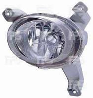 Противотуманная фара левая гладкое стекло CHEVROLET AVEO 06-