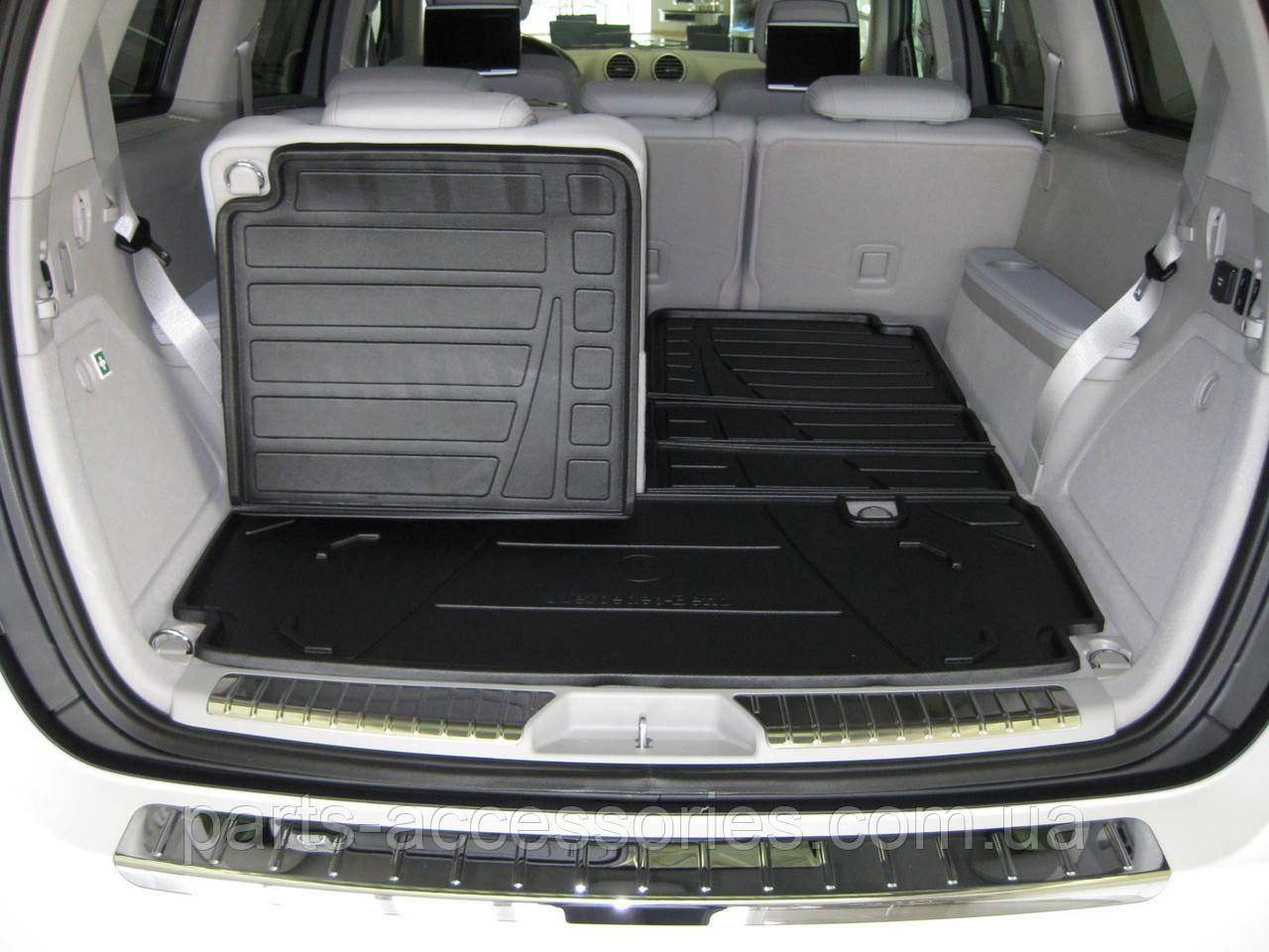 Mercedes GL GL-Class X166 2012-15 GL350 GL450 GL500 GL550 GL63 складной коврик в багажник Новый Оригинал