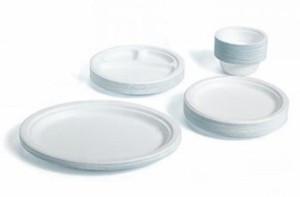 Тарелки одноразовые