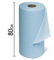 Простынь одноразовая 0,8♦500м (плотность 22 мкн) Голубой