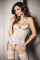 Эротическое секси белье Passion Розовый эротический корсет Passion SHANTI CORSET | Секс шоп - интим магазин Импери.