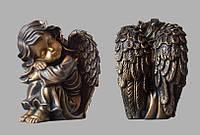 Скульптура ангела из искусственного мрамора № 5 (тонированный)