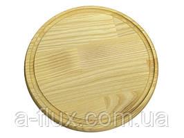 Доска круглая с канавкой КЕДР 320*20 мм
