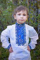 Вышиванка для мальчика, с украинским орнаментом