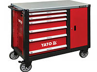 YATO Шафа-візок для інструментів з 6 шуфлядами, 1000x 1130x 570 мм