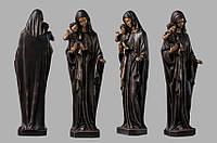 Скульптура девы Марии из искусственного мрамора № 7 (тонированный)
