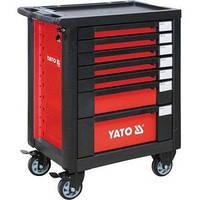 YATO Шафа-візок для інструментів з 7 шуфлядами, 958x766x465ммDW