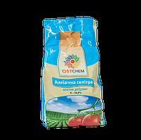 """Азотное удобрение """"Аммиачная селитра"""" N-34,4% Ostchem (Остчем), 1кг"""
