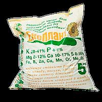 """Комплексное минеральное удобрение растительного происхождения с микроэлементами """"ЕкоПлант"""", 5кг"""