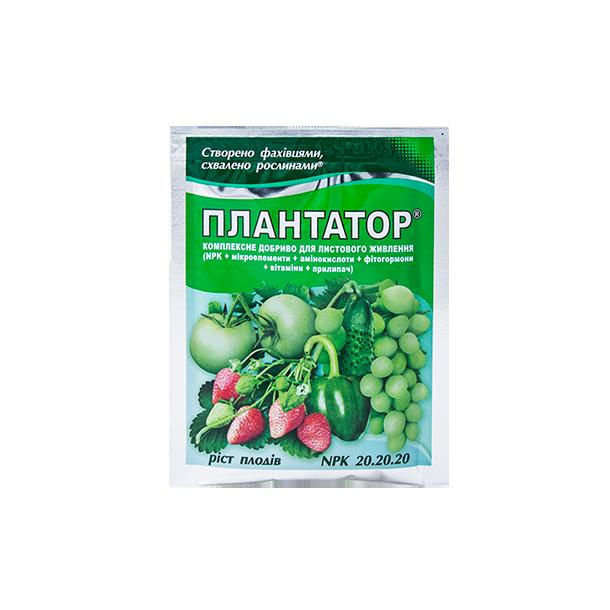 Комплексное удобрение с микроэлементами, аминокислотами, фитогормонами и витаминами для роста плодов Плантатор