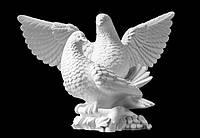 Скульптура голубя из искусственного мрамора № 11