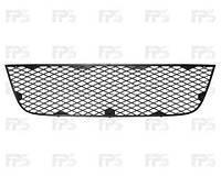 Решетка  в бампер средняя  черн. FIAT DOBLO 05-09