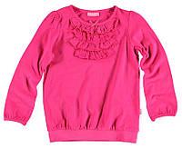 Реглан для девочки LC Waikiki розового цвета с жабо