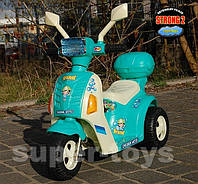 Детский электромобиль мотоцикл-трицикл QX-7396