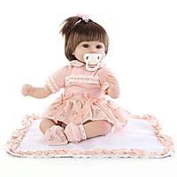 Кукла Мелисса, реборн, 42см, мягконабивная, в подарочной коробке