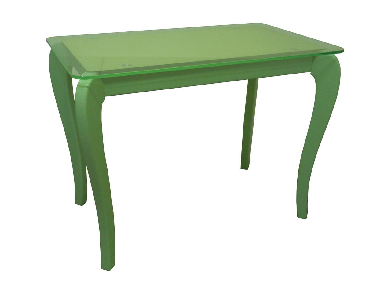 Стол обеденный со стеклянной столешницей ДКС Классик Антоник, цвет на выбор