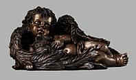 Скульптура ангела из искусственного мрамора № 16 (тонированный)