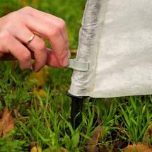 Парник Агро-Лидер из агроволокна 6 метров плотность 50 гр/м2 укомплектован колышками, фото 3