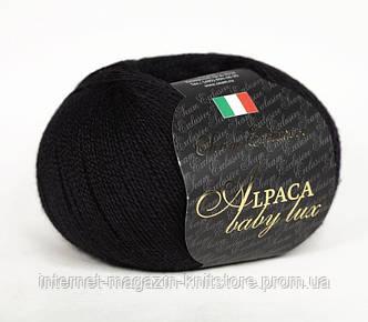 Пряжа Сеам Alpaca Baby Lux черный