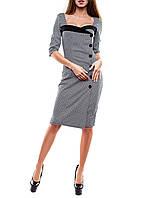 """Элегантное женское платье """"Совиньон"""" в деловом стиле"""