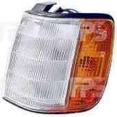 Габаритный фонарь левая сторона -87 ЖЕЛТО-БЕЛЫЙ MAZDA 323 85-89 (BF) SDN HB
