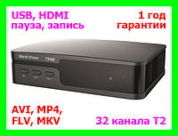 T2 ресивер (тюнер) World Vision T54M (32 канала Т2)
