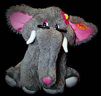 Слон 45 см. Мягкая игрушка Слоник, Слоненок. Подарок девушке, девочке, детям