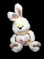 Заяц 50 см. Мягкая игрушка Зайчик. Подарок девушке, девочке, детям