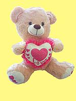 Мишка 38 см. Мягкая игрушка Плюшевый Медведь. Подарок девушке, девочке, детям