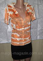 Кофта стильная трикотажная с капюшоном для девочки-подростка