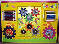 Игровая настенная панель «Шестеренки»