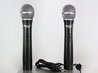 Радиосистема Max DH-744 Микрофон 2 шт + База