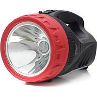 Ручной поисковый фонарь YJ 2829 с встроенным аккумулятором