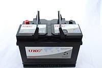 Автомобильный аккумулятор 12v 80Ah UKC BATTERY DIN80 с уровнем электролита 80A